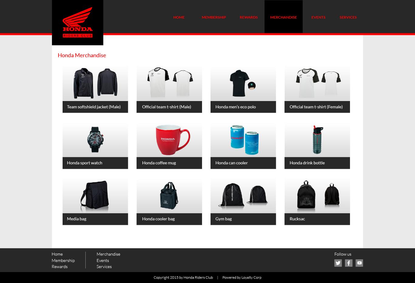 Website Hrc Luz Riquelme