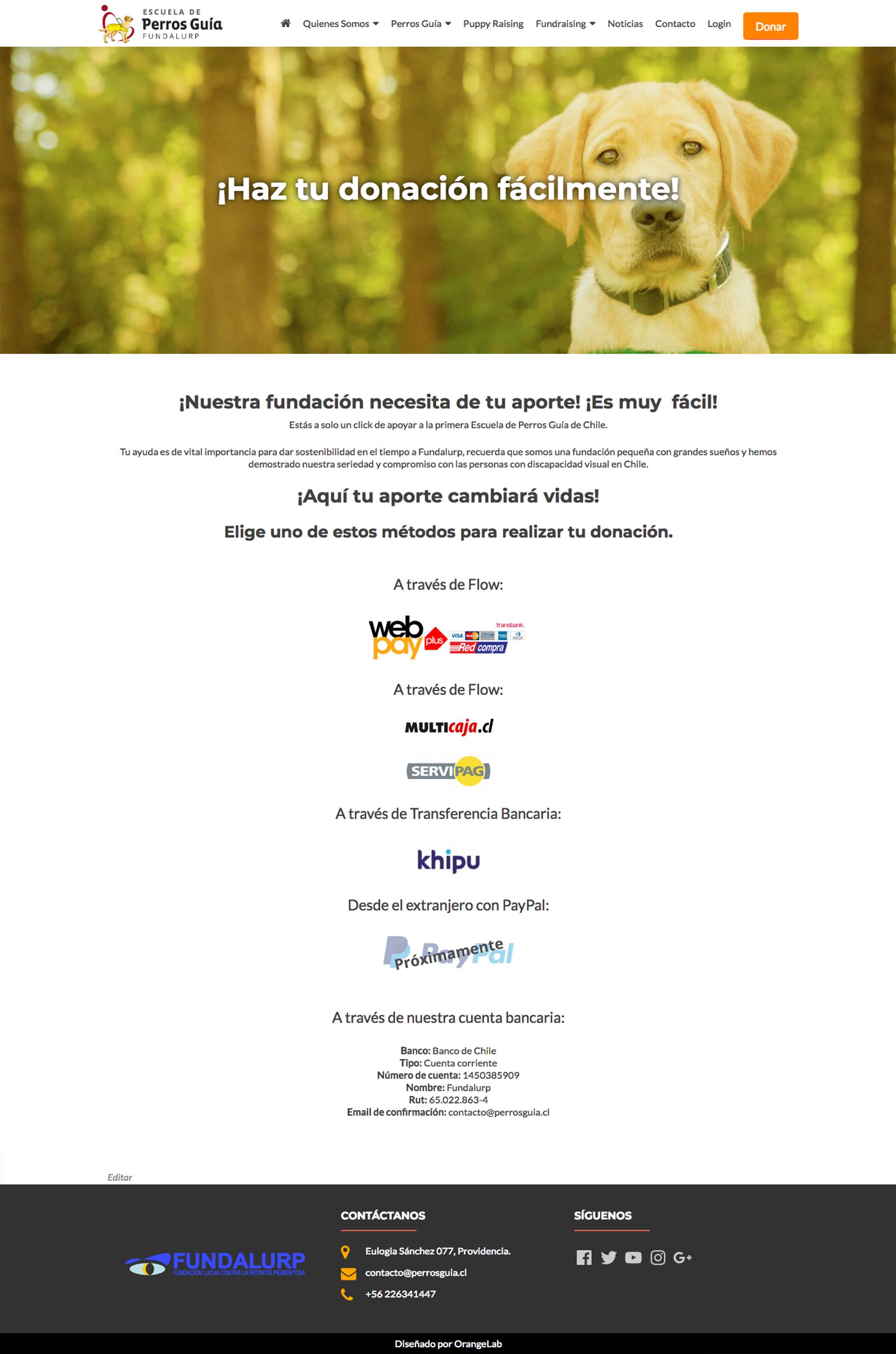 Screenshot_2018-07-15 Donación - Escuela de Perros Guía Fundalurp
